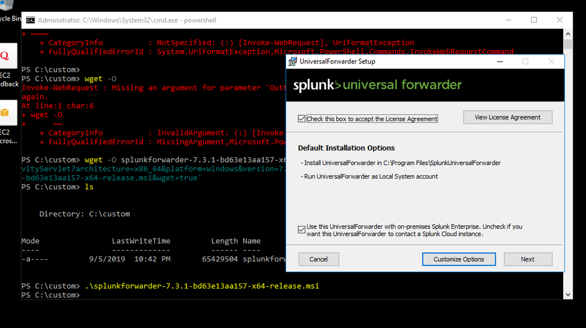 Learn how to install Splunk